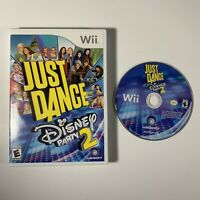 Just Dance: Disney Party 2 (Nintendo Wii, 2015) Tested Works Great!