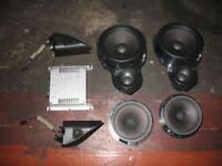 Original VW Passat 3AA Soundsystem A2460 3c8035454a, 3c8035453, 3c8035411, 5k003