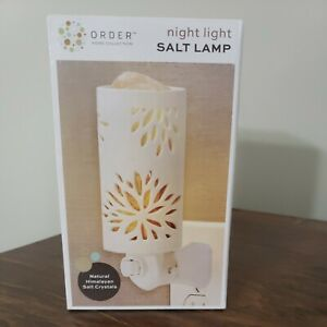 Night Light Salt Lamp Soothing Ambient Glow For Relieving Tension Himalayan Salt
