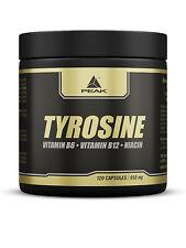 Peak Tyrosin (10,42?/100g) Aminosäure 120 Kapseln a 950mg, L-Tyrosin