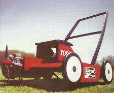 Cloud Clipper Flying Lawnmower Plans, Templates and Instructions 26ws