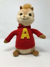 "Ty Beanie Baby ~ ALVIN (Alvin and the Chipmunks) 10"" Tall Stuffed Plush"