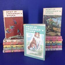 Vtg BEST IN CHILDREN'S BOOKS HCDJs Andy Warhol Richard Scarry Sendak~lot of 11