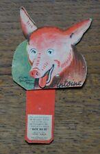 Vache qui Rit Ancienne Carte Publicitaire Animée Benjamin Rabier Cochon Antoine