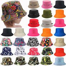 Mens Womens Bush Bucket Boonie Hat Festival Fishing Fisher Summer Beach Caps