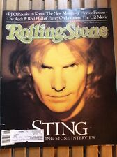 ROLLING STONES MAGAZINE #519 Feb 11,1988 STING On Cover