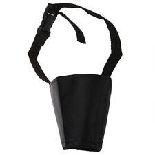 Bozal Rejilla Nylon Regulable Negro para Perro Adiestramiento 8cm Talla 3 Z9D7