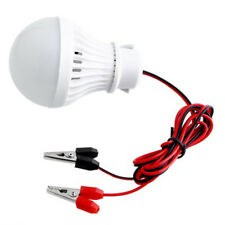 12V  DC 5W LED Bulbs Lamp Home Camping Solar Hunting Emergency Outdoor Light