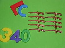 LOTE PLAYMOBIL NORDISTA,armes, fusils, fusils de chasse, winch ,LOTE 340
