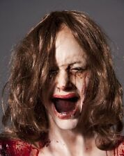 Severed Female Head - The Walking Dead Halloween Haunted House Prop - Decoration
