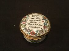 "CARTIER ENAMEL BOX ""YESTERDAY AND TOMORROW"""