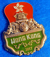 HONG KONG 3D CUT OFF SERIES ICONIC LANDMARK CHINESE TEMPLE Hard Rock Cafe PIN LE
