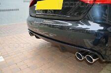Audi A4 8K B8 Diffusor Tuning Heckdiffusor für Limo und Avant Doppelendrohr L+R