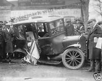 Photograph Washington DC Car Street Accident Year 1922  8x10