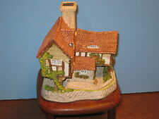 David Winter Cottages Tomfool's Cottage Coa Mib