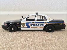 Maryville Tennessee Police Department diecast car Motormax 1:24 scale