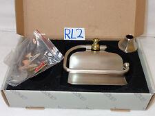 Ginger Empire Hooded Toilet Tissue holder 627-15/3 Satin Nickel/Pol. Brass New