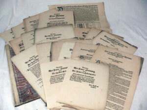 19 Feuerverordnungen, Dresden um 1650, Feuerwehr, Erlass, Dokument