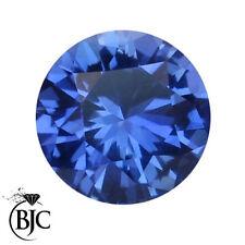 Gioielli e gemme di zaffiro blu rotondi