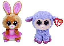 Ty Beanie Boos Twinkle Toes the Ballerina bunny and Lavender the Purple Lamb