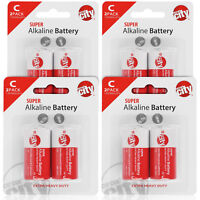 Circuit City C-Cell Enhanced Performance Alkaline Batteries  (8 Pack)