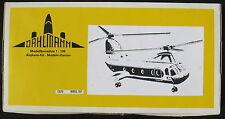 DAHLMANN 13070 - Vertol 107 - 1:100 - Hubschrauber Modellbausatz - Model Kit