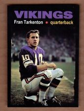 Fran Tarkenton '61 Minnesota Vikings rookie year Monarch Corona Glory Days #13