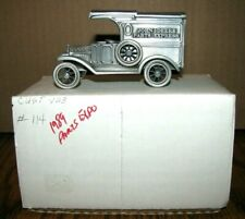 John Deere Ford Pewter Parts Truck 1989 Expo Nashville 1/43 SpecCast Toy Ser 114