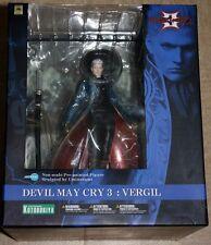 ++ figurine devil may cry 3  VERGIL KOTOBUKIYA ARTFX NEUF ++
