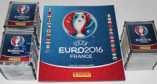 Panini UEFA EM EURO 2016 France - INTERNATIONAL EDITION 300 Packets + Album MINT