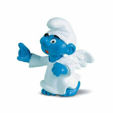 Schleich Smurfs Soccer Series 2003 Goal Keeper Smurf With Tags