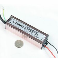 50W Watt High Power LED Driver AC85V-265V 50-60HZ Waterproof power supply driver