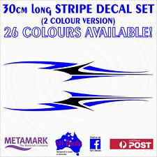 30cm STRIPE #2 STRIPING 2 colour car,ute,4x4,boat,tinny,vinyl decal sticker set