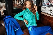 New Fashion Women's Chiffon Long Sleeve Loose Tops Blouse Summer Casual Shirt