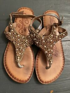 naughty monkey size 7 sandals