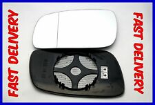 VW PHAETON 2002-2007  WING MIRROR GLASS WIDE ANGLE HEATED LEFT
