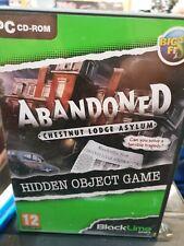 ABANDONED CHESTNUT LODGE ASYLUM - HIDDEN OBJECT PC GAME! VGC!