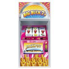 Big Buck 7 Slot Machine Porte Housse - 76 x 152 cm-Casino Fête Décoration Murale