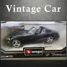 NIB 1/18 Dodge Viper ER/10 1993 by Burago Diamonds Car (Ref: 3065) Metal Vehicle
