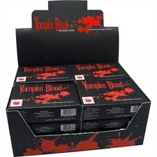 20 Incense Cones 2 x Boxes VAMPIRE BLOOD Premium Extract Devils Garden Insence