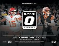 2020 Panini Donruss Optic Football Hobby H2 Hybrid Box Factory Sealed Presale