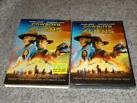 Cowboys and Aliens (Widescreen DVD, 2011) w Slipcover BRAND NEW & FACTORY SEALED