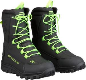 Arctiva Advance Snowmobile Boots / Black/Hi-Viz - All Sizes