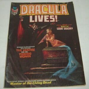 Stan Lee Presents DRACULA LIVES 2 Origin Count Dracula Adams & Starlin Vampire