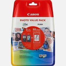 Genuine Canon Pixma MG3550 High Capacity Inkjet Cartridges black & tri-colour