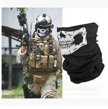 1X Ghost Skeleton Skull Face Mask Biker Balaclava Costume Halloween Cosplay Mask