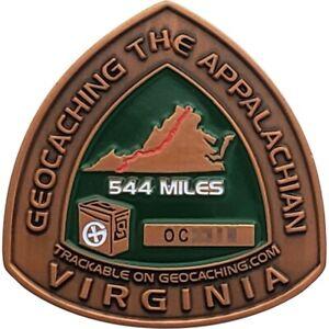 Appalachian Trail 2008 Geocoin - Virginia, Activated