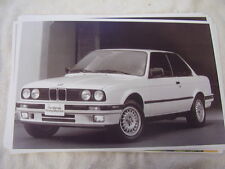 1989  BMW  325i coupe 11 X 17  PHOTO /  PICTURE