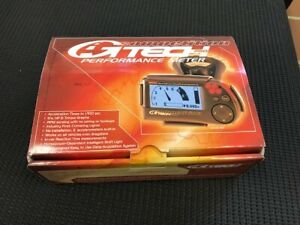 GTech Pro Competition Car Vehicle Performance Meter Acceleration Times COMPLETE