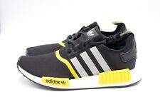 Adidas Originals NMD R1 Black Yellow Silver White F99713 Men's Size 8.5 Runner